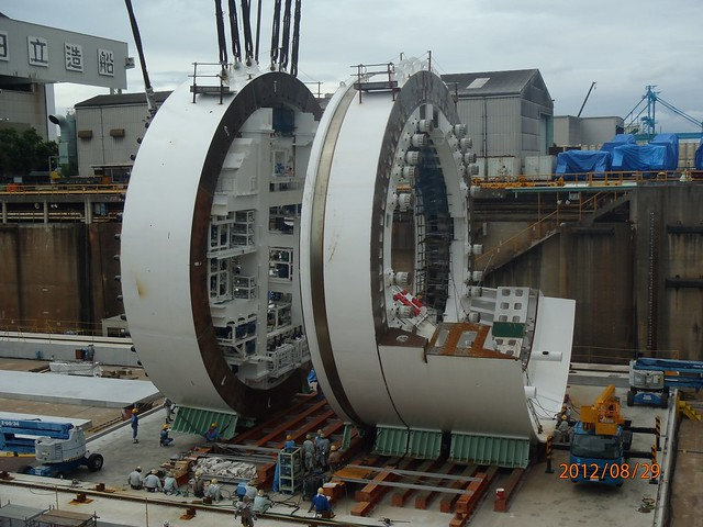 small tunneling machine