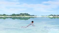 Swimming in the Ocean (Sunlit Tides)