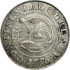 Lot 6765 - Continental dollar