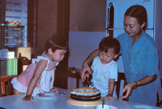 1982 Oct - My 3rd birthday