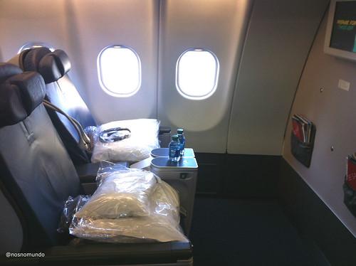 Voando para o Japão