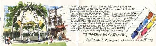 121030 Lane Cove VIllage by borromini bear