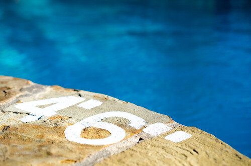 blue 6 feet water pool stone architecture swim landscape four photography texas dof unitedstates bokeh 4 depthoffield limestone six inches kingsland nikon40mm nikond7000