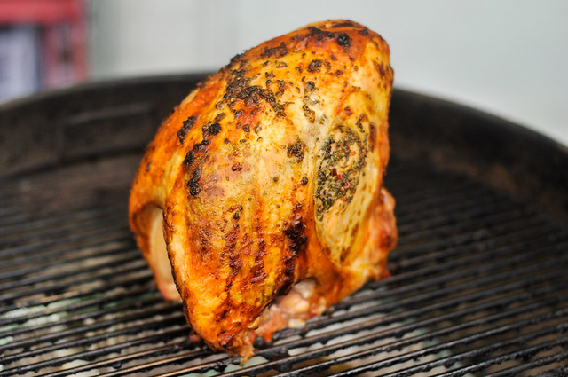 Grill-Roasted Herb-rubbed Turkey Breasts Recipe :: The ...