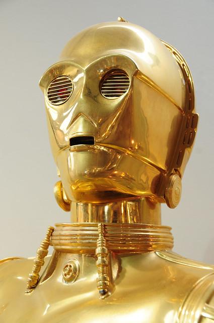 C 3po star wars droid robot at jersey goldsmiths flickr photo sharing - Robot blanc star wars ...