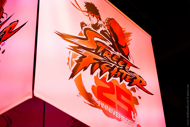 Paris Games Week 2012 | Street Fighter 25th Anniversary | by Studiosushi