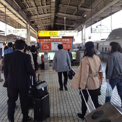 名古屋駅に無事到着 by haruhiko_iyota