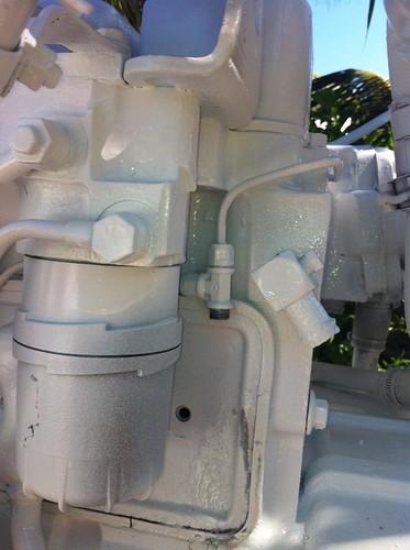 bertram31 com • View topic - Fuel return line fitting question