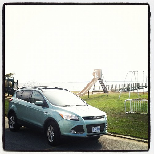 @FordCanada escape in Rehoboth Bay, Delaware this was area was under water on Monday #fordottawa