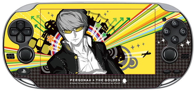 Persona 4 Golden PS Vita Skin