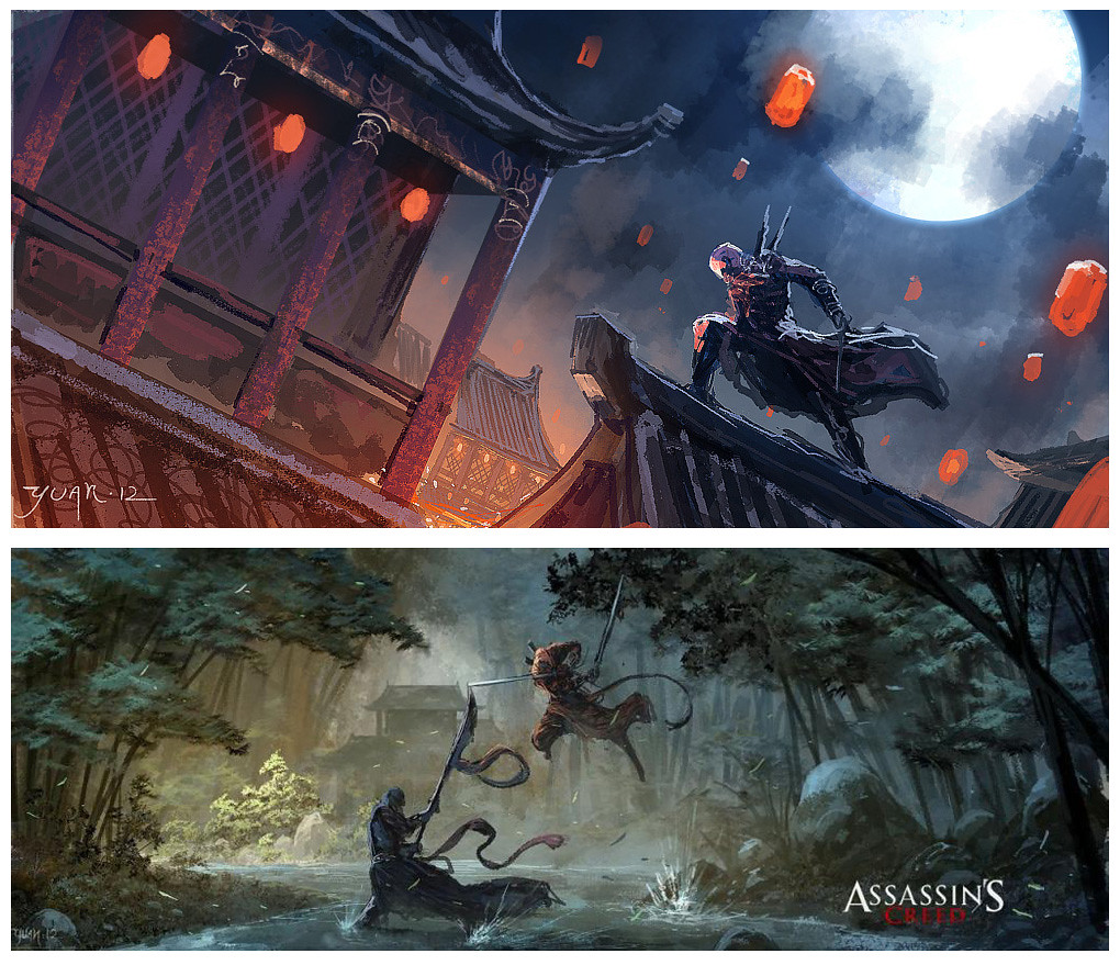 5d36523ff Assassin's Creed in Ancient China' by Yuan