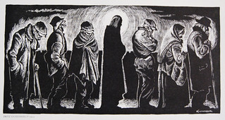 Christ of the Breadlines (by Fritz Eichenberg)