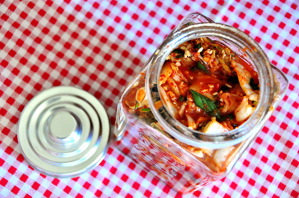Homemade Wombok Kimchi