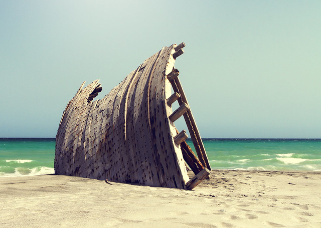 Masirah Island by CC user orphicpixel on Flickr