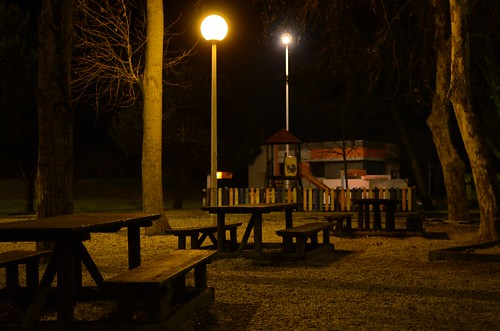Day #014 - Park at Night