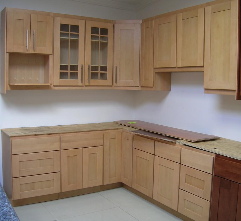 Tủ bếp bằng tre