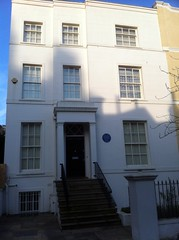 Photo of Samuel Palmer blue plaque