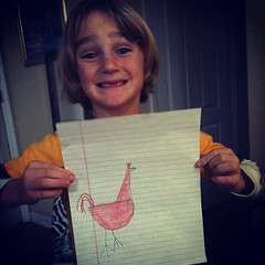 Rr is for Rooster #homeschool #letteroftheweek