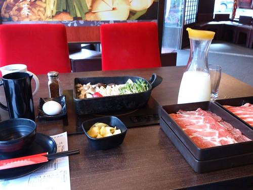 「鋤燒」壽喜鍋