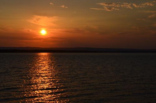 sunset favorite orange sun vermont grandisle champlainislands lakechamplainislands
