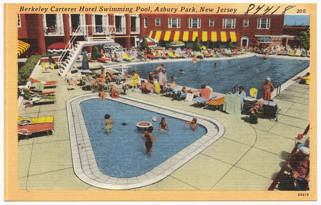 Berkeley Carteret Hotel Swimming Pool Asbury Park New Jersey Flickr Photo Sharing