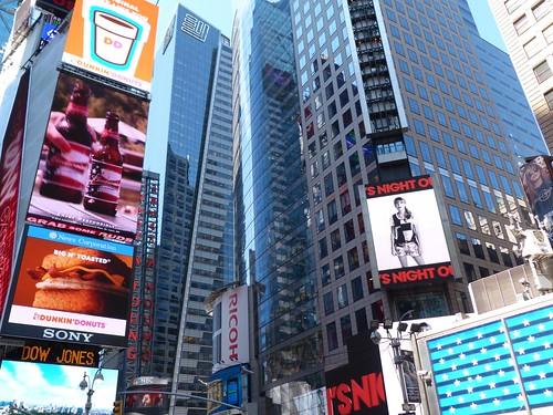 Detalle de Times Square, en Nueva York