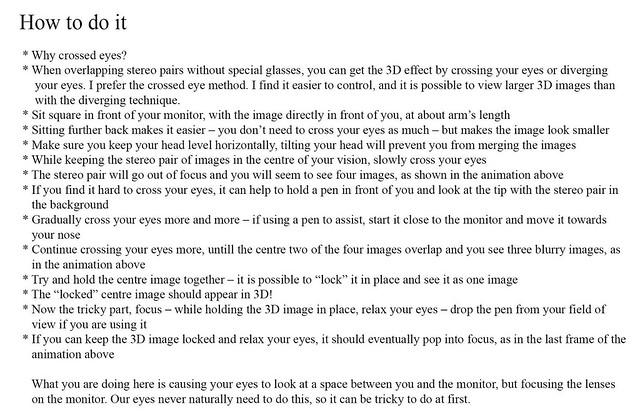 3D Instructions