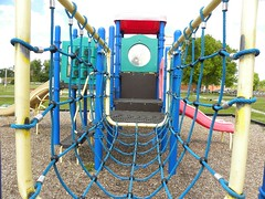 outdoor play equipment, playground slide, public space, playground, park,