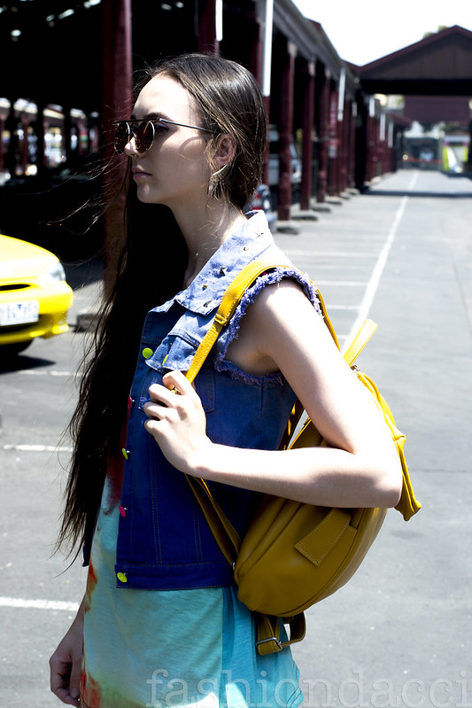 Blog leather backpack#002