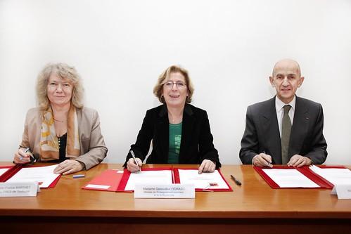 Signature de la préconvention Idex de Toulouse