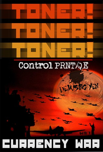 TONER TONER TONER by Colonel Flick/WilliamBanzai7