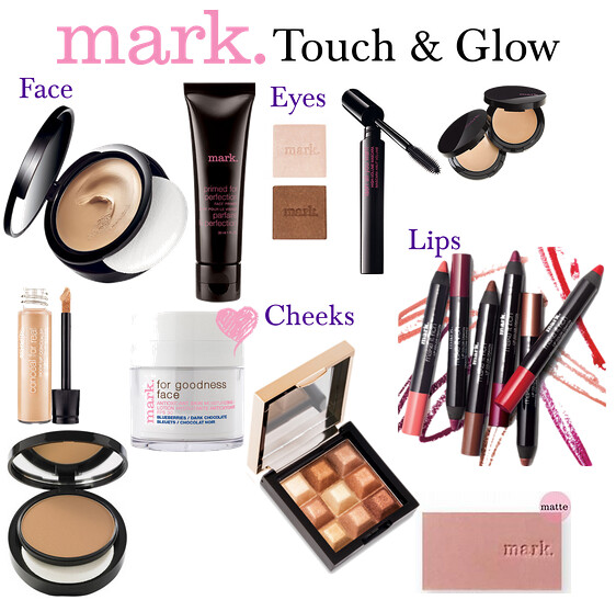 Living After Midnite: mark. Makeup Monday: Touch & Glow