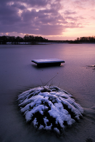 winter snow cold water sunrise dawn frozen dam si sthelens farscape halstead carrmill mmorning