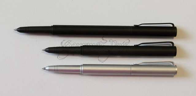 BIGiDESIGN Solid Titanium Pen + Stylus Compared to Pocket Sizes