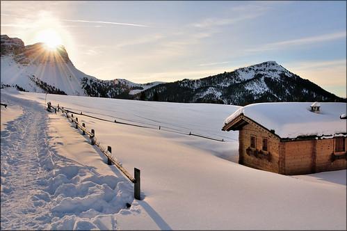 Dolomiti - Val di Funes - dal rifugio delle Odle by Luigi Alesi
