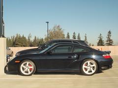 Porsche Turbo in profile