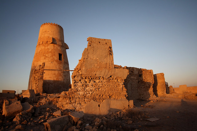 Emirate of Ras Al Khaimah - Tower and ruins
