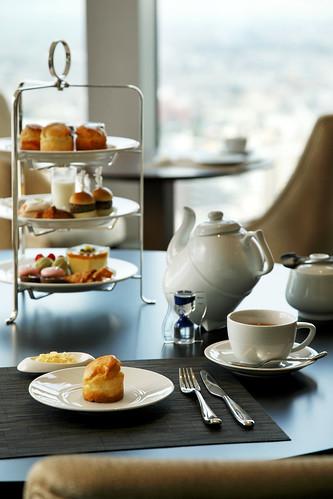 The Westin Sendai—Afternoon tea at Horizon