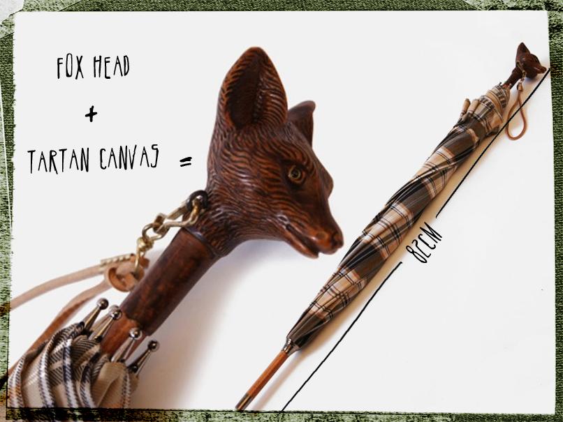undercover fox head