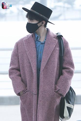 Big Bang - Incheon Airport - 21mar2015 - G-Dragon - G-One - 03