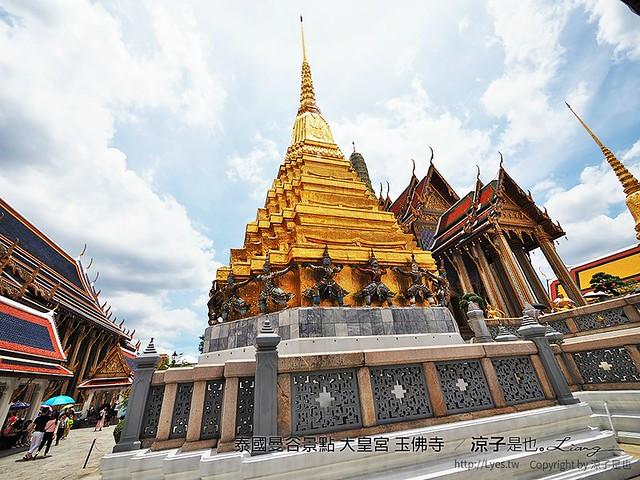 泰國曼谷景點 大皇宮 玉佛寺  85