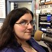 Tue, 08/30/2016 - 11:03 - Joan Nobile working at the microphone.