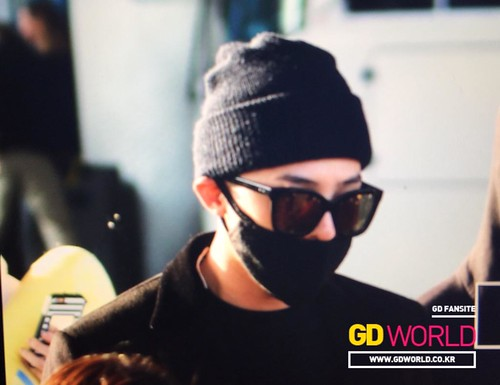 Big Bang - Incheon Airport - 10apr2015 - G-Dragon - GD World - 04