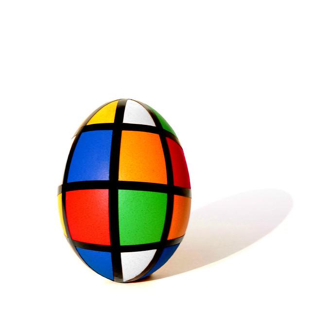 rubik's egg (brescia, italy)