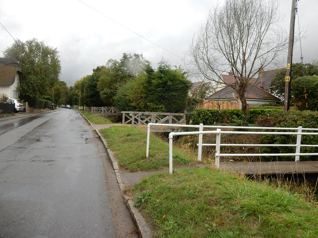 The many bridges of Arkesden Each house has its own over Wicken Water. Wendens Ambo Circular
