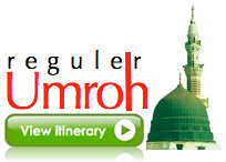 Itenary Umroh Reguler Travel fajar Berkah Ilahi