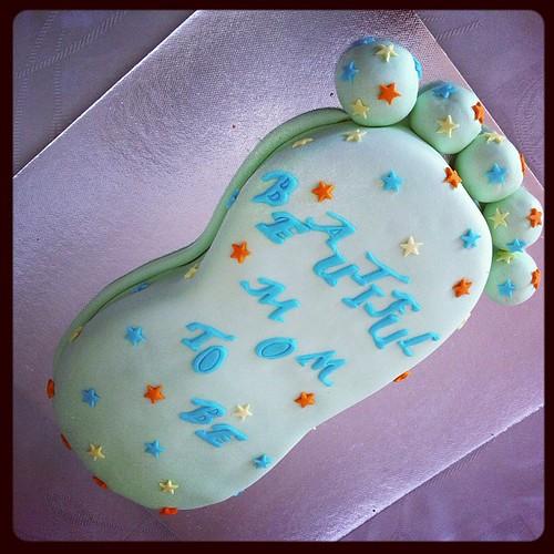 #babyfootcake #birthdaycake by l'atelier de ronitte