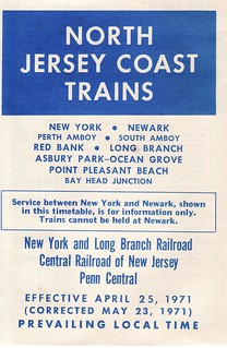North Jersey Coast 1971 Cover