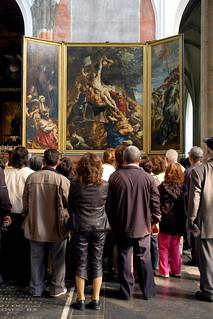 """""""El descendimiento"""", de Rubens."""