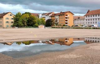 Bienne--Place Walser